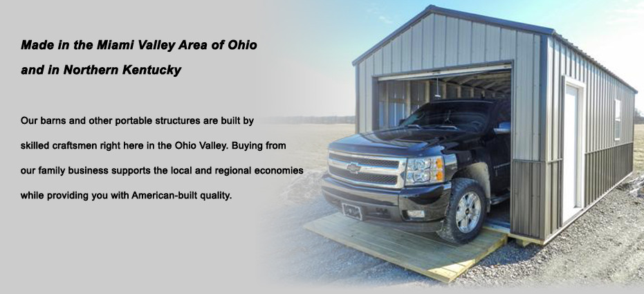 Made in the Miami Valley Area of Ohio and in Northern Kentucky.