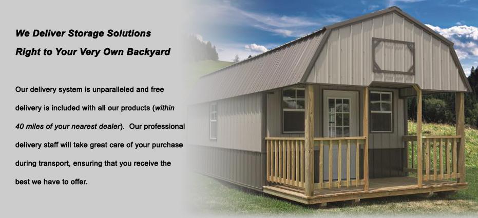 We Deliver Storage Solutions Right To Your Very Own Backyard.